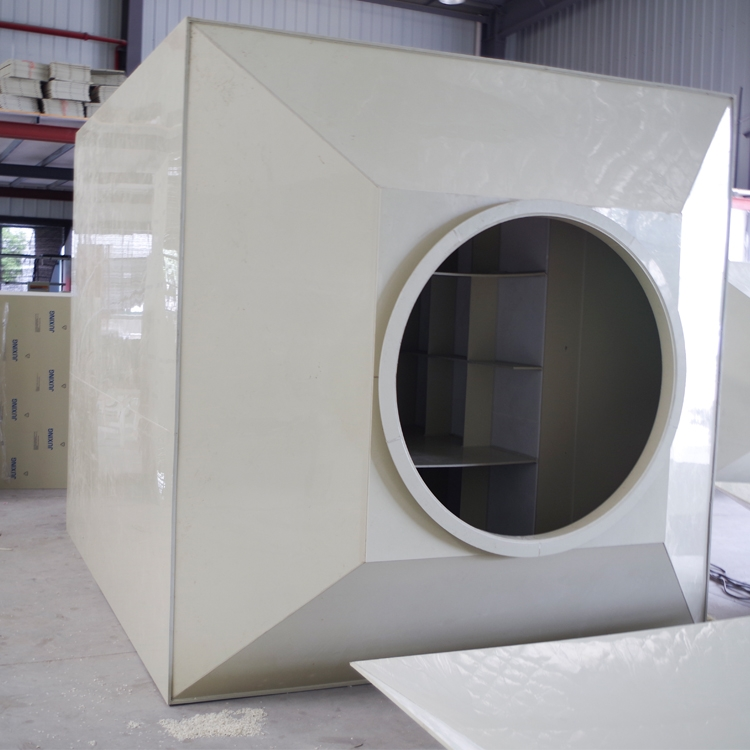 PP活性炭塔噴漆 活性炭吸附塔箱廢氣酸霧吸收凈化吸附塔